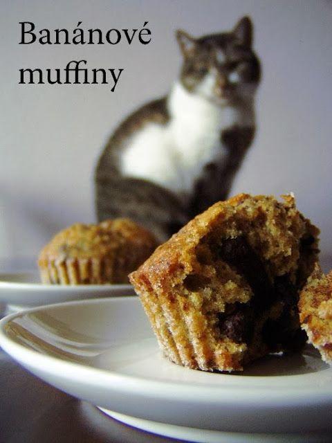 TynaTyna: Banánové muffiny s čokoládou (20ks)