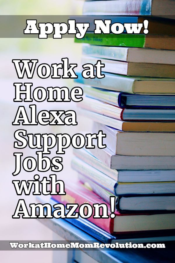 Work At Home Alexa Support Jobs With Amazon Customer Service