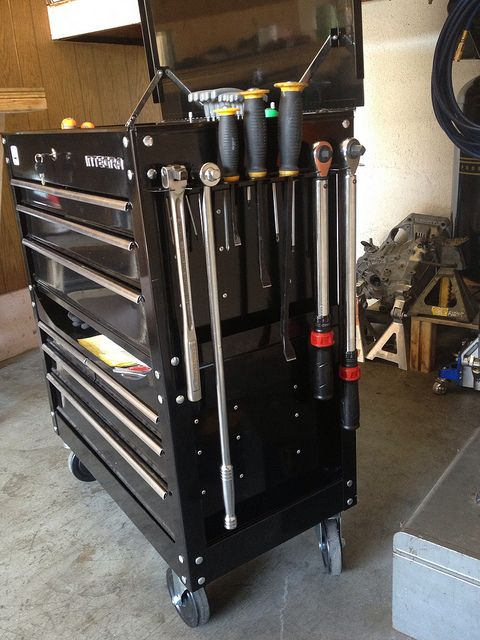 22 best harbor freight toolbox images on pinterest tool for Garage modification