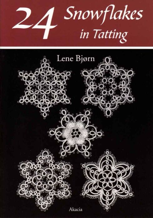 Lots of tatted snowflake patterns by Lene Bjorn