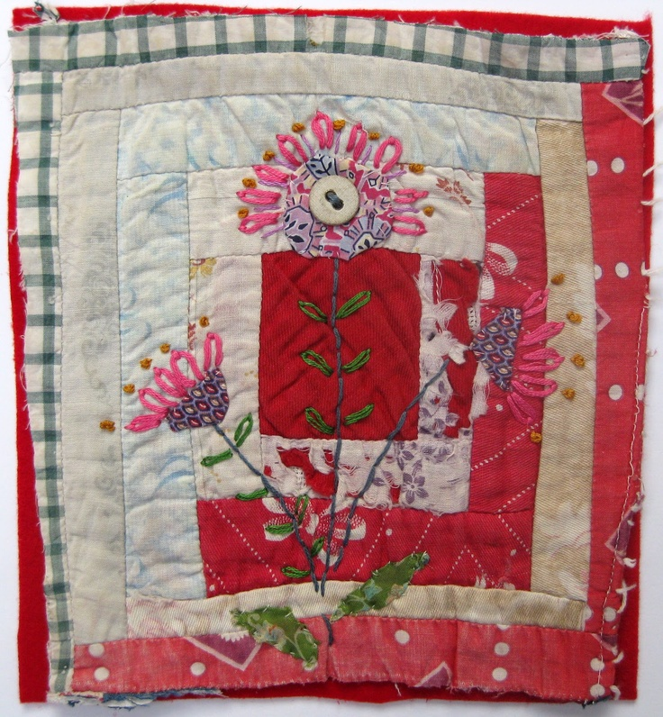 Thread and Thrift Workshop. Another example of Mandy Pattullo's beautiful work.