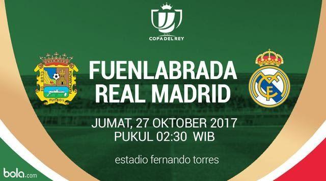 K.O 02.30 Fuenlabrada vs Real Madrid live Streaming Copa Del Rey http://ift.tt/2gEyFlB Laliga Madrid Match