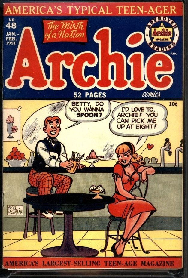 540 best Vintage Archie images on Pinterest | Archie comics, Comics ...