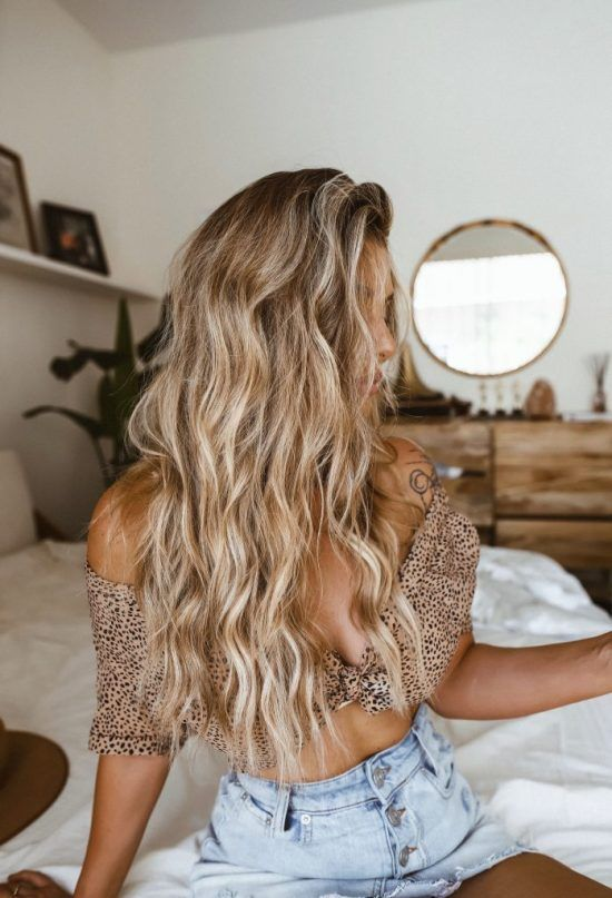 6 Ways To Curl Your Hair With A Straightener - Society19   Blonde hair looks, Hair styles, Hair waves