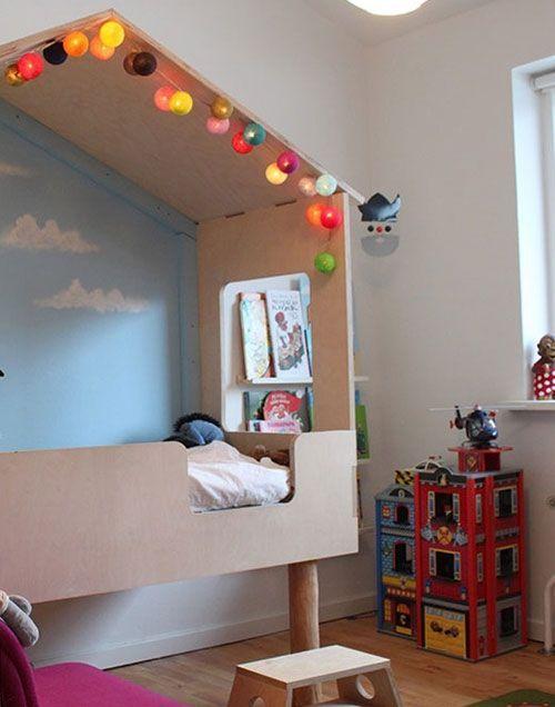 Great  dormitorios infantiles con camas creativas