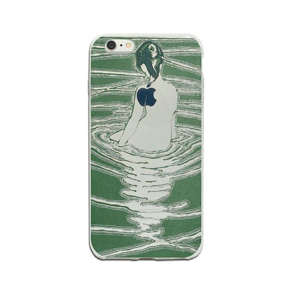 Green clear iPhone 6 plus 7 plus case iPhone case iPhone SE