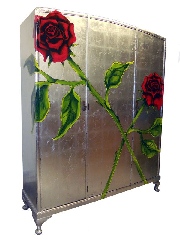 Rose Silver Wardrobe by Jimmie Martin