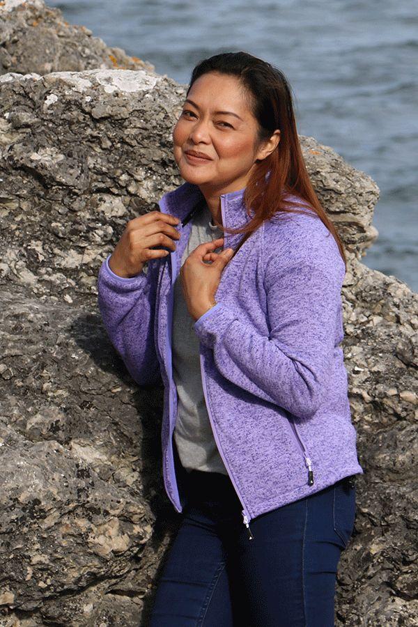 Daniella knit jacket från Meow fashion