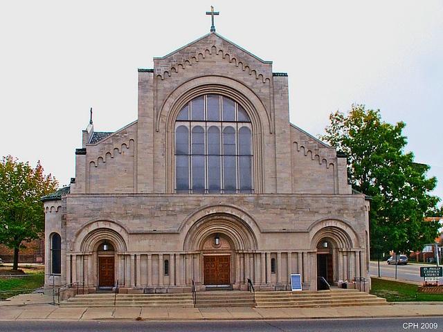 Battle Creek MI, St Philip Roman Catholic Church, via Flickr.