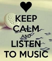 Keep Calm And Listen To Music Wisdom Words 2 Think R Ponder