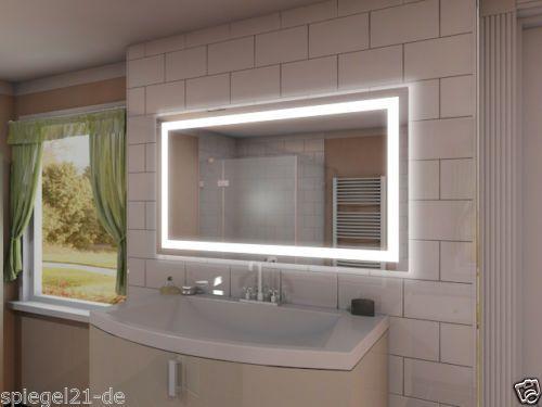 25+ parasta ideaa Badspiegel Mit Led Beleuchtung Pinterestissä - led beleuchtung im badezimmer
