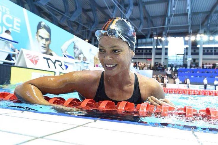 Coralie #Balmy, championne de France du 400m nage libre en 4:07.51 #Limoges2015 KMSP/S.KEMPINAIRE