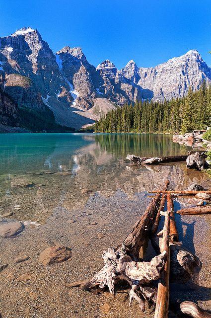 Moraine lake, #Canada