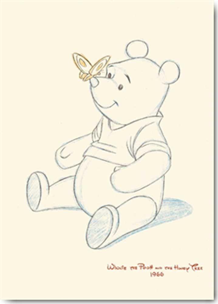 winnie the pooh with honey sculpture   … Disney – Kunstdruck / Art Poster – Winnie the Pooh and the Honey Tree