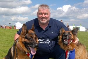 THE founder of the Great North Dog Walk says it could be a new world record breaker. Tony Carlisle is feeling confident this year's event could see South Tyneside making a new world record for the largest dog walk. In 2011, 22,742 pooches took part in the challenge, but Tony from South Shields, reckons today's efforts could beat that as 24,000 were expected to take part.