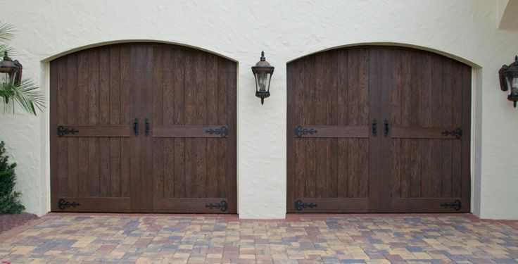 1000 images about garage doors on pinterest wood garage for Composite garage doors that look like wood