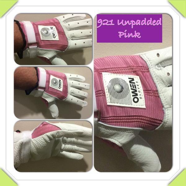 Owen Gloves 921 Unpadded Pink – New York Handball Store