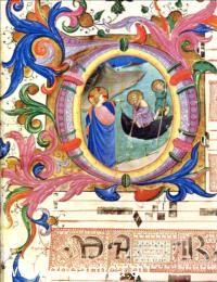 Beato Angelico - Gesù: la chiamata dei SS Pietro ed Andrea - Graduale di San Domenico - miniatura su pergamena - tempera e pennello - Biblioteca, Museo San Marco-Firenze