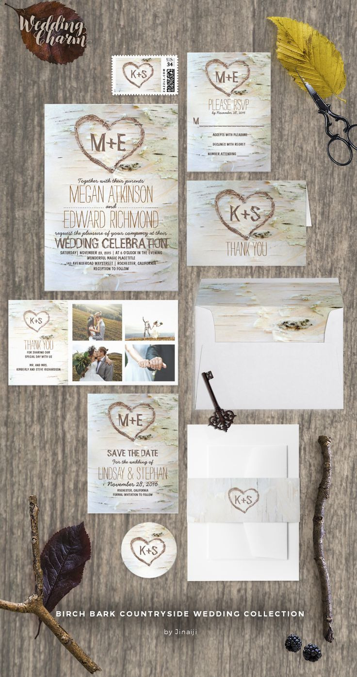 142 Best Wedding Invitation Sets Images On Pinterest