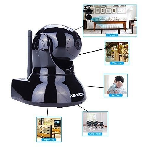 Wireless Baby Monitor  Camera Audio Home Security Safety Monitor Video Ip Camera