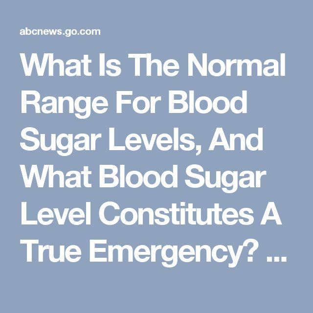 how to keep blood sugar levels low