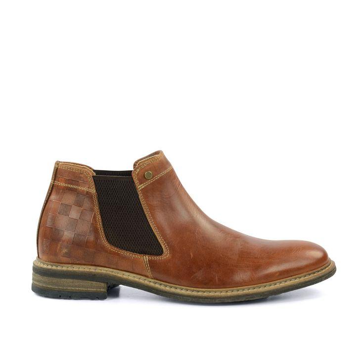 Chelsea Boots leer cognac #Chelsea boots #boots
