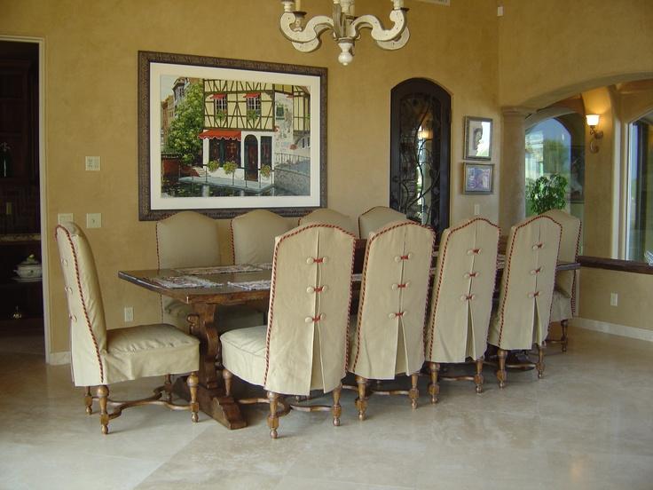 Slipcovers By Claudia Buchanan Www.sewwhat4u.com Peoria, AZ · Dining Chair SlipcoversDining  Room ...