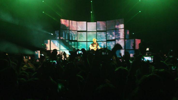 Ed Sheeran concert 23/2/13