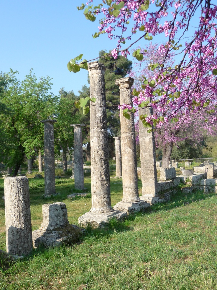 Olympia - Greece - the ancient site of the first Olympic Games.  Very cool!