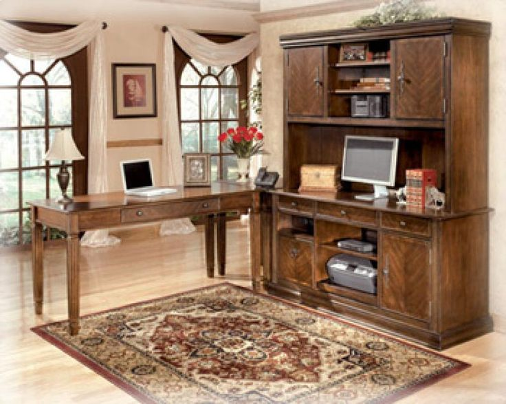 H52749 by Ashley Furniture in Winnipeg, MB - Home Office Tall Desk Hutch