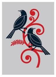 Image result for Relief carving of NZ native birds