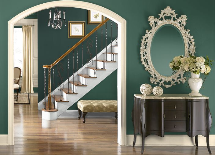 Living Room Paint Color Ideas With Wood Trim Dark