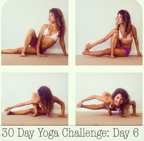 30 Day Yoga Challenge : Day 6 - Baby Grasshopper - Yoga Articles | YOGA.com workout plans, workouts #workout #fitness