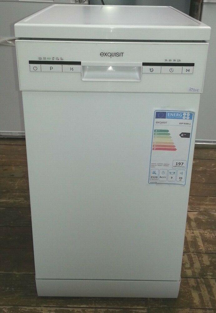 Ebay Sponsored Stand Spulmaschine Exquisit Gsp 9109 1 45cm