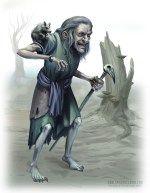 Swamp Witch  Tom McGrath 2015
