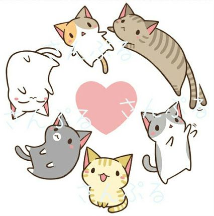 kawaii neko cat - Google zoeken