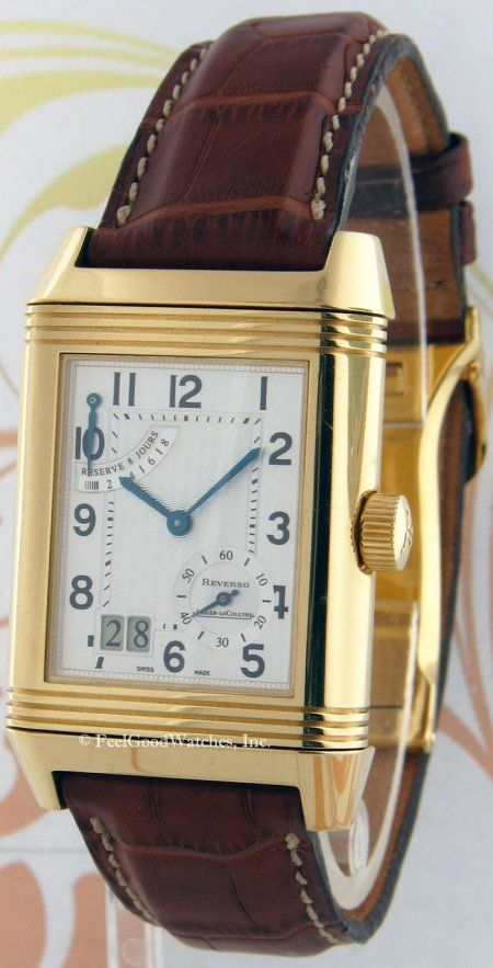 Jaeger-LeCoultre 3001420 Reverso Grande Date, Yellow Gold