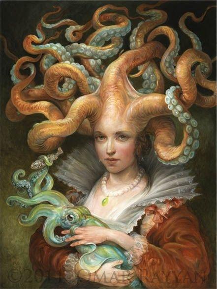 octopus art   Tumblr