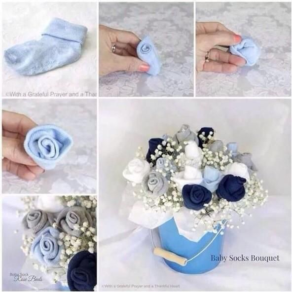 Baby Sock Boquet