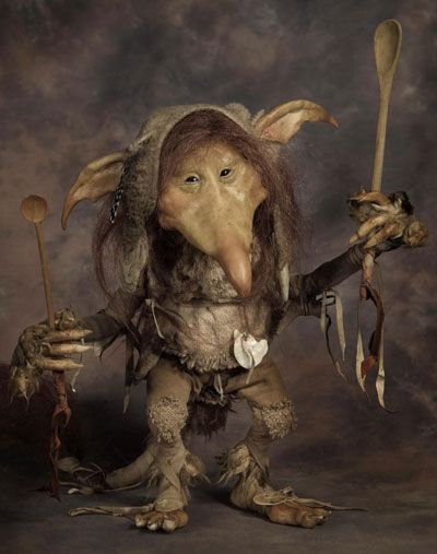 Spoon Holding Trolls: Chagford Film Festivals Sculpting Demonstration