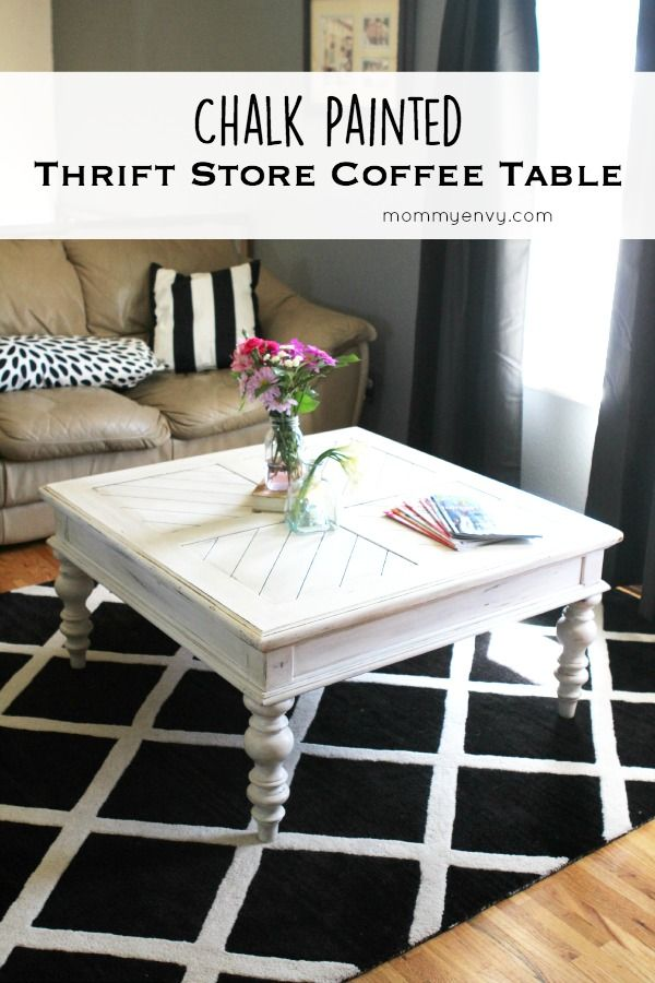 Antique White Painted Coffee Table Best Chalk Paint Bottles Of Water And Stains