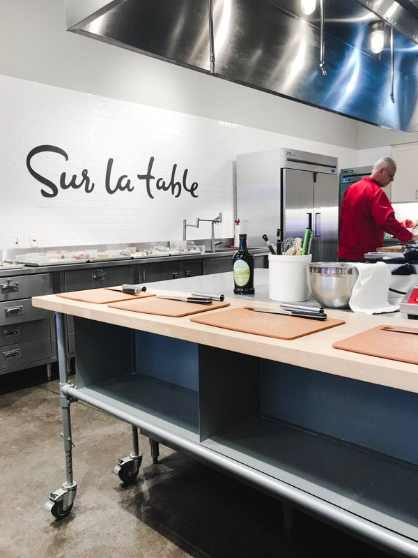 Take A Cooking Class At Sur La Table Fun Date Night Idea Cooking Classes Sur La Table Cooking Show