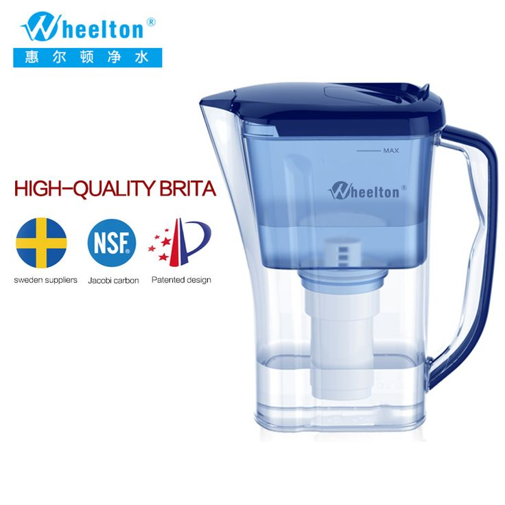 2016  Household and Picnic Dual Filter pitcher Water Filter Water Purifier Brita certified to NSF Free Shipping