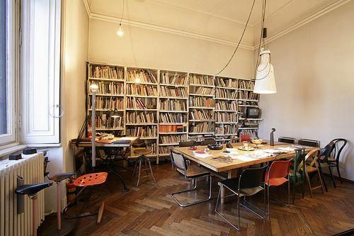 WHITE.WOOD.GREY - Achille Castiglioni's Office