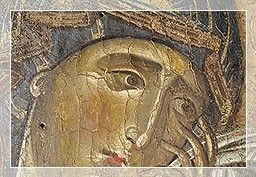 la Vergine - San Colombano - la Crocifissione