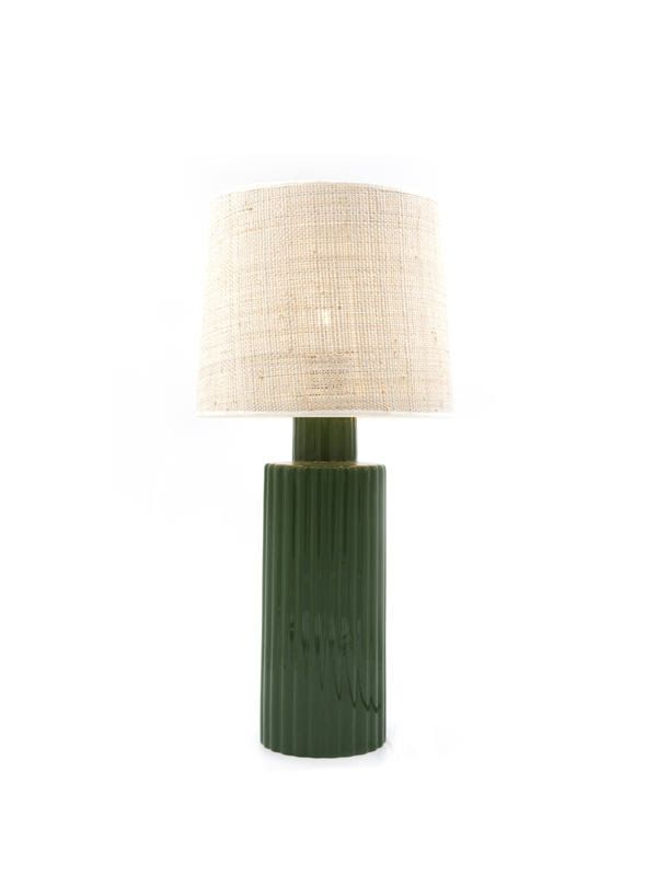 Portofino Table Lamp In Green From Maison Sarah Lavoine Green Table Lamp Contemporary Table Lamps Vintage Table Lamp