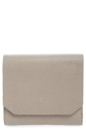 f2b7dc27e76 Nordstrom Leather Trifold Wallet | Womens Wallet Styles | Leather ...