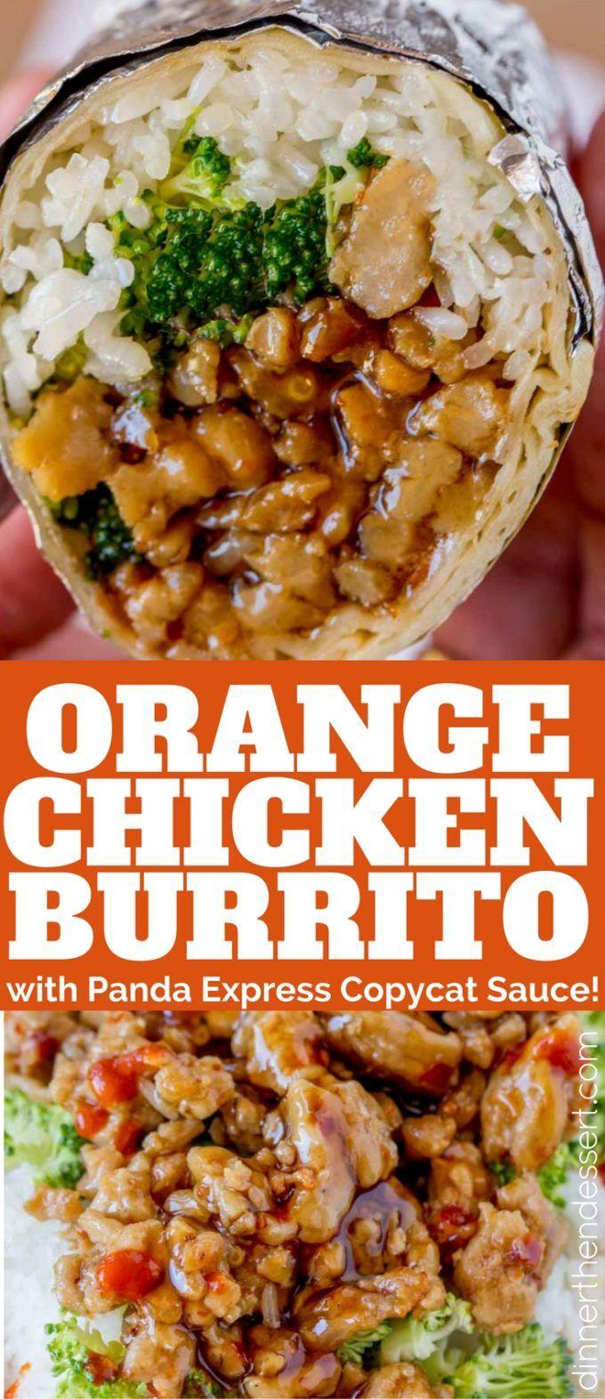 Hf ideas parrillas y asados - Orange Chicken Burrito
