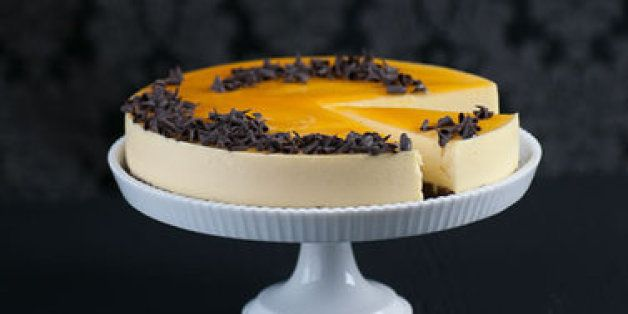 Where Love Lies: Passionfruit Mousse Cake