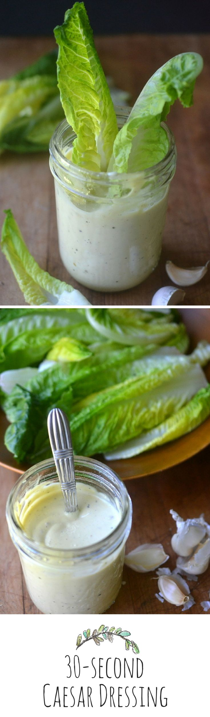 You'll find so many uses for this classic dressing!  Make it fast and easy with an immersion blender!